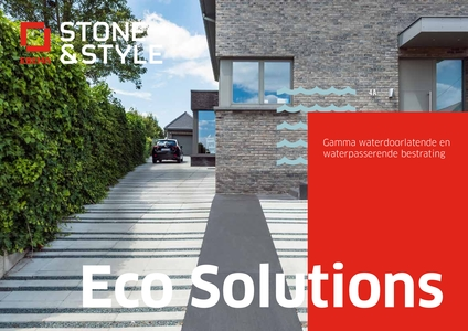 Eco Solutions Gamma - Waterdoorlatende en waterpasserende bestrating