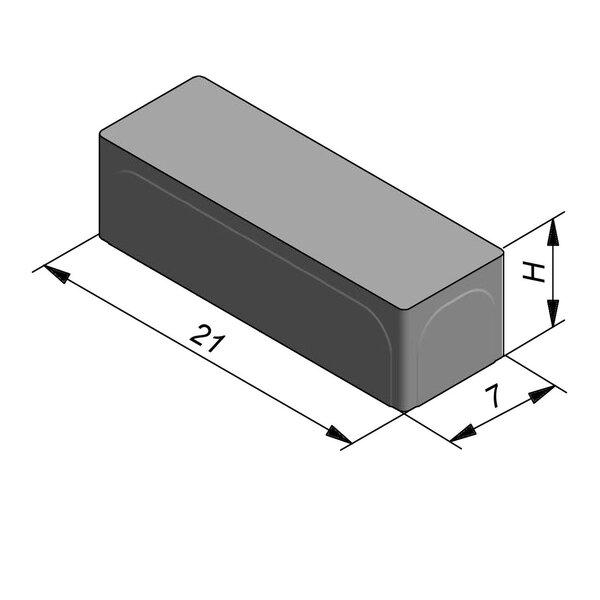 Product image for Klinker Cassaia 21x7cm (LxB)