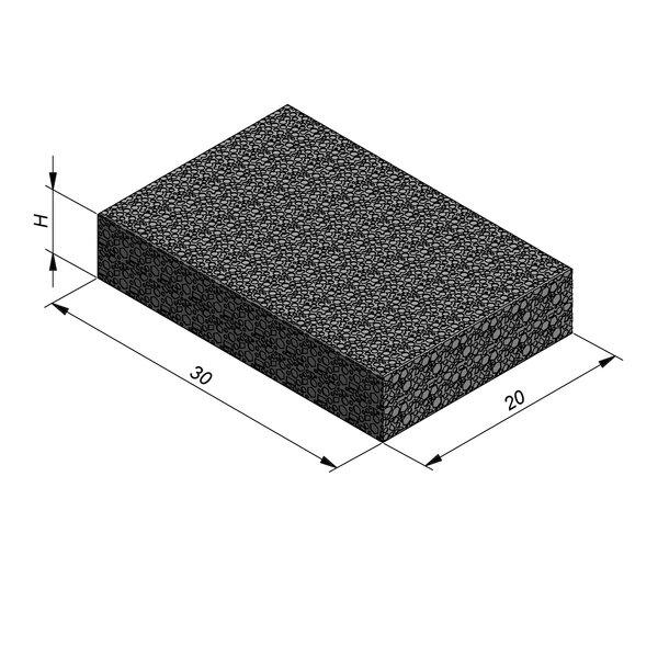 Product image for Klinker waterdoorlatend Infiltro 30x20cm (LxB)