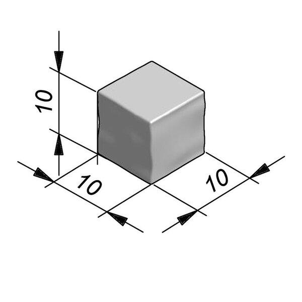 Product image for Cliffstone Walling Brick eindstuk 10x10x10cm (LxBxH)