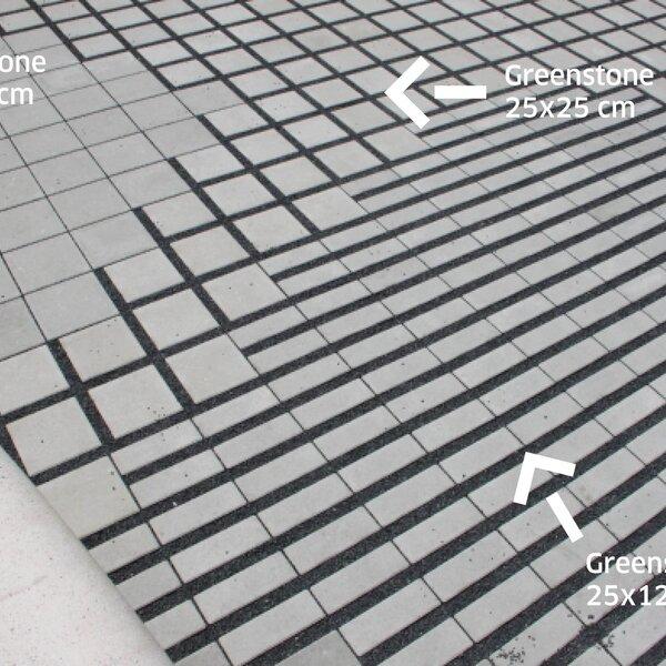 Product image for Dalle drainante Greenstone Classic 25x25cm (Lxl)